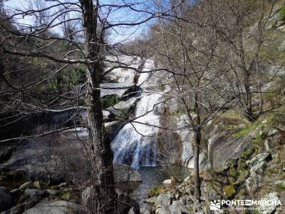 Cascadas de Gavilanes - Pedro Bernardo;castañar del tiemblo camino smith nieve en madrid
